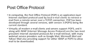 Email Protocol For Business by Voip And Wired And Wireless Networks Ppt Download