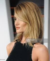 rosie huntington side parted lob 2015 hairstyles to try the long bob or lob long bob february