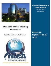 iaca 2015 conference program by iaca communications issuu