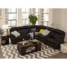 Taylor King Sofas by Diablo 7 Piece Power Reclining Sectional With Armless Power Chair