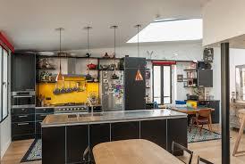 cuisine appartement parisien beau triplex sous les toits