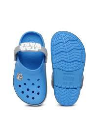 star wars crocs light up buy crocs kids blue star war jedi light up clogs flip flops for