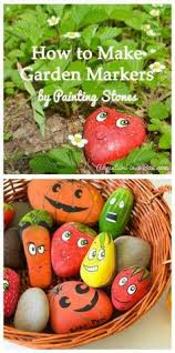 diy garden markers inspired by lois ehlert growing gardens