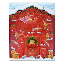 advent calendar lindt teddy adorable advent calendar 250g at wilko