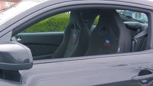installed my ford racing recaro seats ford mustang forum
