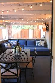 How To String Patio Lights Porch Lighting Ideas Best 25 On Pinterest Outdoor Lights 4 Screen