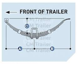 springs single axle cm trailer parts new zealand trailer parts