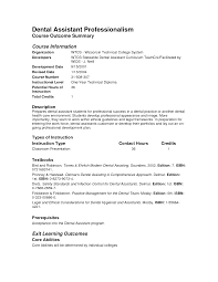 Sample Entry Level Healthcare Resume Dental Assistant Resume Templates Resume For Your Job Application