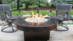 round propane fire pit table popularity of propane firepit table boundless table ideas regarding