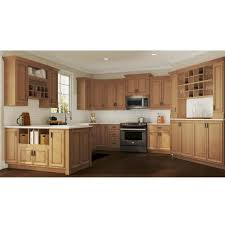 home depot 60 inch kitchen base cabinet hton assembled 36x34 5x24 in base kitchen cabinet with bearing drawer glides in medium oak