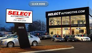 dealership virginia select automotive va used cars virginia used car
