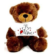 be mine teddy 2 big teddy wearing be mine t shirt