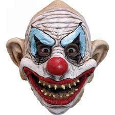 scariest masks evil scary clowns scary clown costumes props masks