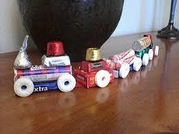 lifesaver candy train ornament i spy a birthday party