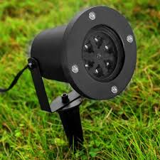 outdoor lawn lights waterproof outdoor snowflake snow laser led landscape lawn light
