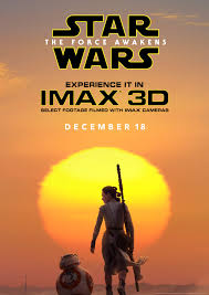 take a first look at the star wars force awakens imax 3d poster