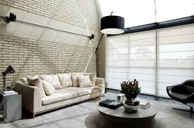 interior decorations for home industrial chic loft features the ideal match between comfort and