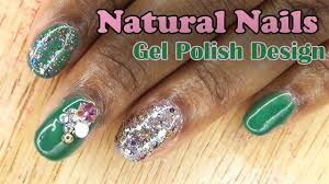 natural nails gel polish design longhairprettynails youtube