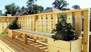 deck planter bench best deck planters ideas u2013 iimajackrussell