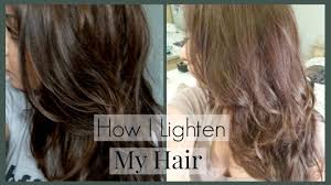 how to lighten dark brown hair to light brown how i lighten my hair and roots and home how i color my hair to