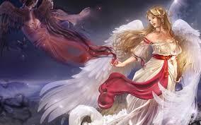 fantasy angel wallpapers for desktop wallpapersafari