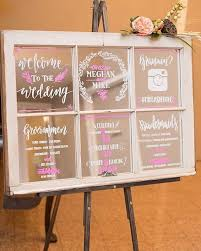 wedding program board such a and budget friendly alternative to wedding programs