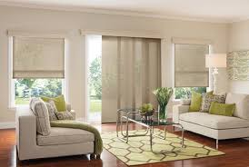 Modern Blinds For Living Room Graber Window Panels Sliding Panel Blinds Modern Living Room