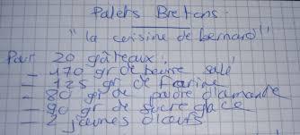 la cuisine de bernard palets bretons aux gourmandises de steph