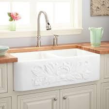 white double kitchen sink double farmhouse sink dosgildas com