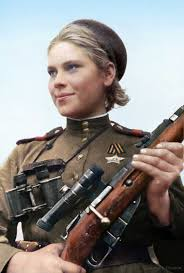 smart beautiful and deadly 19 year old soviet sniper roza