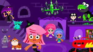 bubble guppies halloween party games nick jr halloween dress up parade games channel for all