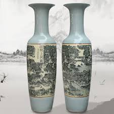 Large Ceramic Vases Large Antique Chinese Floor Vase Large Antique Chinese Floor Vase