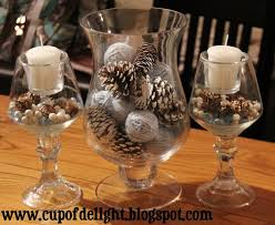pine cone table decorations 70 best center pieces images on ideas