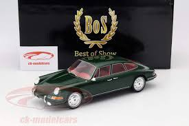 porsche 911 dark green ck modelcars bos060 porsche 911 s troutman and barnes year 1967