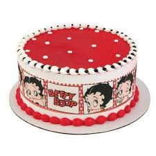 betty boop cake topper betty boop strips licensed edible cake topper 58203