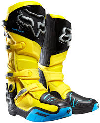 blue dirt bike boots fox bicycle forks fox comp 8 boots motocross black blue orange