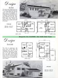 colonial homes 1963 vintage house plans 1960s pinterest