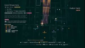 Hudson Yards Map The Division Global Event Hudson Refugee Camp Solo Youtube