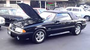 2003 Black Mustang Convertible 1991 Ford Mustang Gt Youtube
