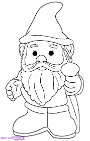 coloring download garden gnome coloring pages garden gnome