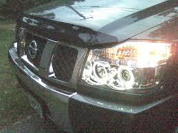 nissan armada for sale dothan al just installed new projector halo headlights nissan titan forum