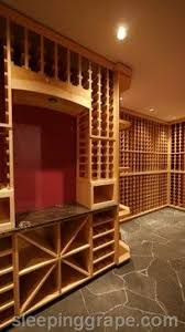 Temperature Controlled Wine Cellar - the rockbank wine cellar natural eastern maple behind temperature