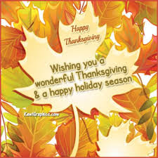 Happy Thanksgiving And Happy Holidays Holidays Thanksgiving Graphics Holidays Thanksgiving