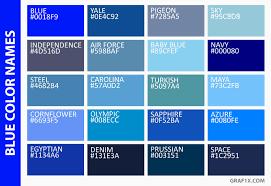 color blue green list of colors with color names graf1x com