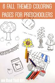 fall coloring pages for preschoolers red ted art u0027s blog