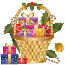 christmas food baskets gift baskets clip clipart collection