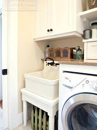 Laundry Room Sinks With Cabinet Porcelain Utility Sink Laundry Room Sink Vintage Farmhouse Utility