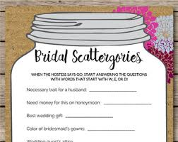 wedding gift quiz floral bridal quiz bridal shower wedding