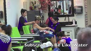full house star lori loughlin gets pampared at a nail salon youtube