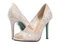 betsey johnson blue wedding shoes blue by betsey johnson adley at zappos